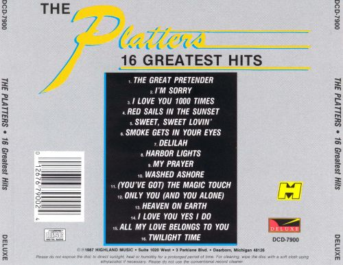 16 Greatest Hits [1987]