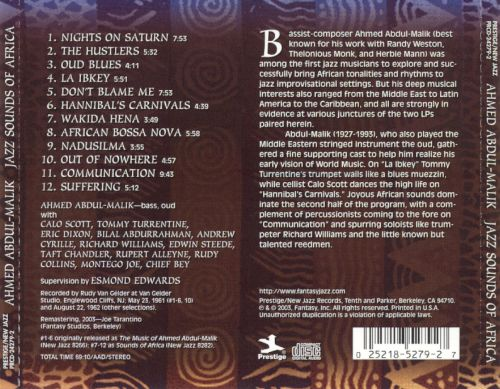 Jazz Sounds of Africa