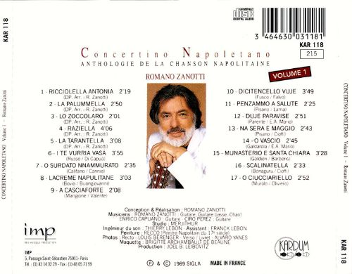 Concertino Napolitano, Vol. 1