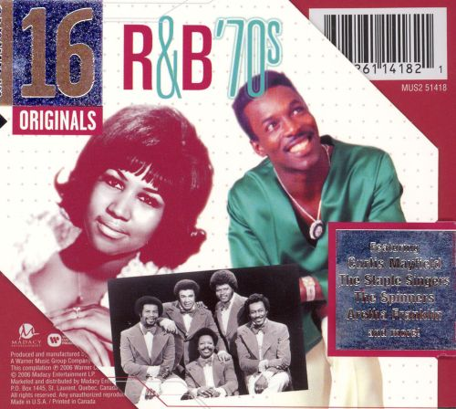 Ultimate 16: R&B 70s