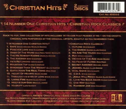 Christian Hits: 14 Number One Christian Hits/Christian Rock