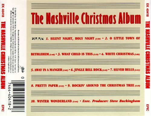 Nashville Christmas Album