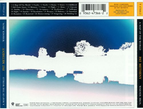 a map of the world pat metheny songs reviews credits allmusic