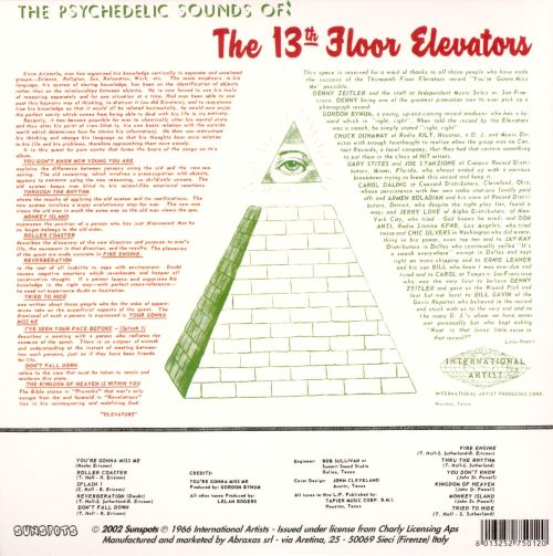 The psychedelic sounds of the 13th floor elevators the for 13th floor review