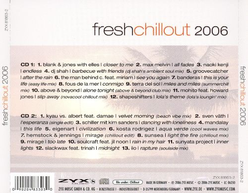 Various - Fresh Chillout