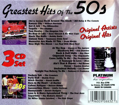 Greatest Hits of the 50s [Box Set #1]
