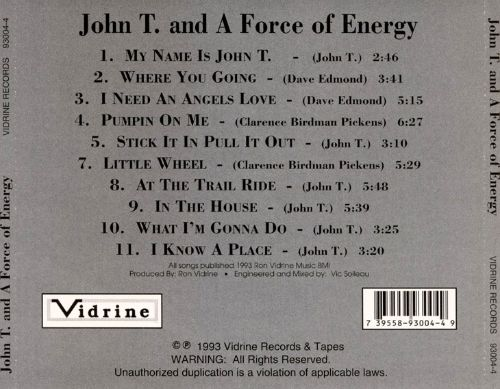 John T. and a Force of Energy