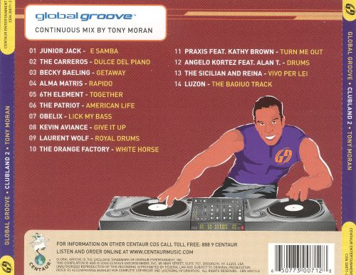 Global Groove: Clubland, Vol. 2