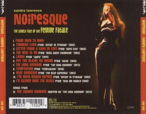 Noiresque: The Lonely Fate of the Femme Fatale