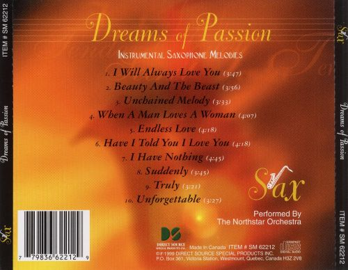 Dreams of Passion: Saxophone Melodies