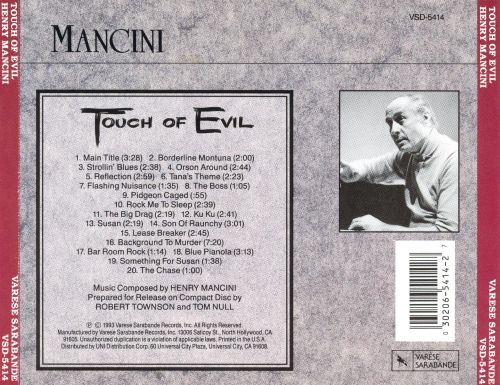 Touch of Evil [Original Motion Picture Soundtrack]