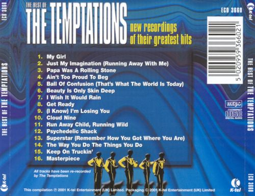 The Best of the Temptations: New Recordings of Their Greatest Hits