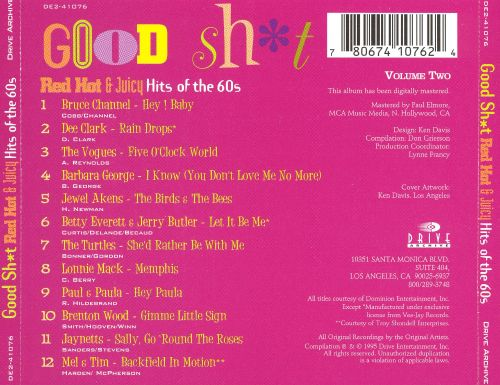 Good Shit, Vol. 2: Red Hot & Juicy Hits of the 60s