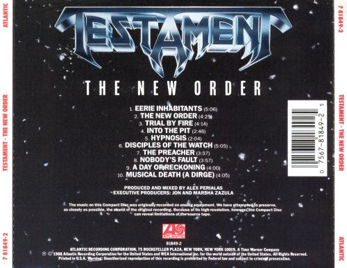the new order testament songs reviews credits allmusic