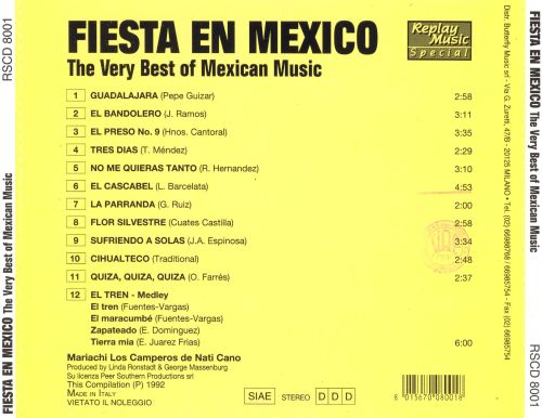 Fiesta in Mexico [Replay]