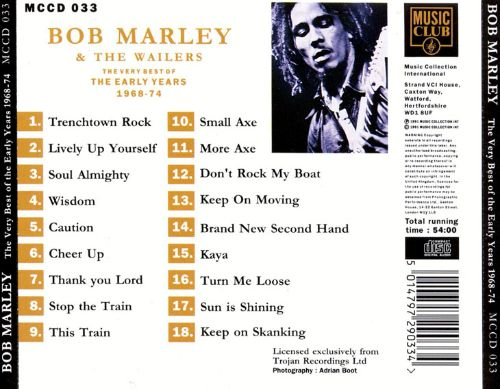 Very Best of the Early Years: 1968-1974