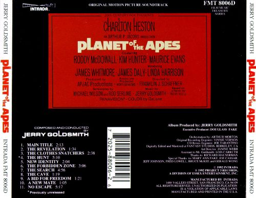 Planet of the Apes [Intrada]