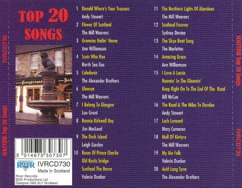 Scottish Top 20 Songs - Various Artists | Songs, Reviews ...