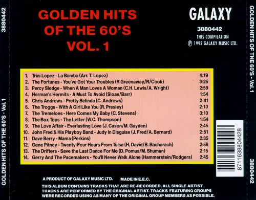 Golden Hits of the 60's