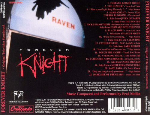 Forever Knight [Original TV Soundtrack]