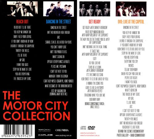 The Motor City Collection Human Nature Songs Reviews