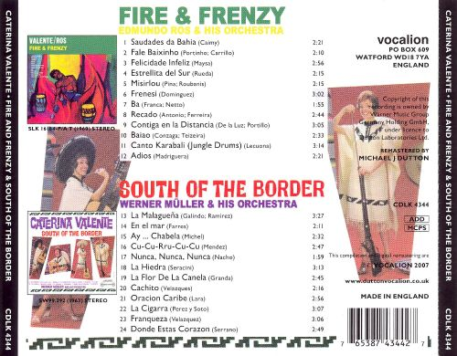Fire and Frenzy/South of the Border