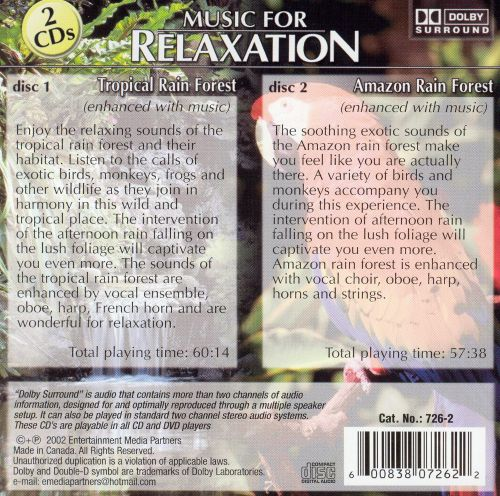 Music for Relaxation: Tropical Rain Forest