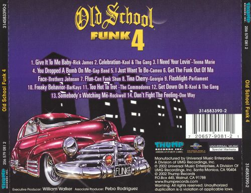 Old School Funk, Vol. 4