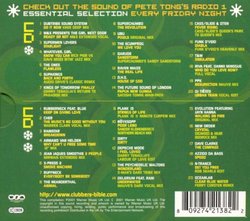 Essential Selection Presents: The Clubber's Bible, Winter 2002