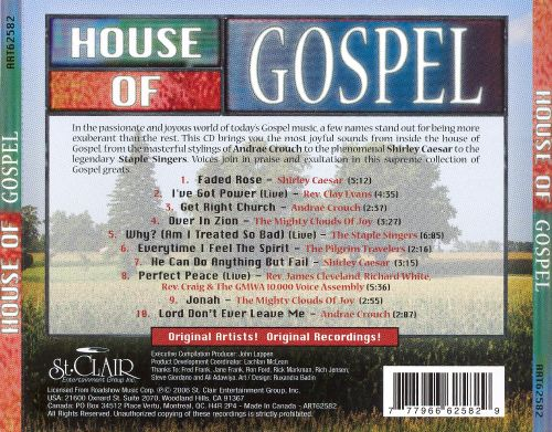House of gospel various artists songs reviews for Gospel house music