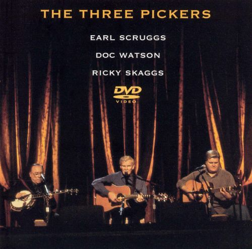 The Three Pickers DVD Earl Scruggs Songs Reviews