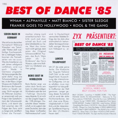 Best of Dance 1985