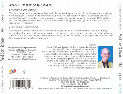 Relaxation for the Mind: Mind Body Software