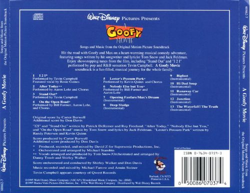 A Goofy Movie [Original Motion Picture Soundtrack]