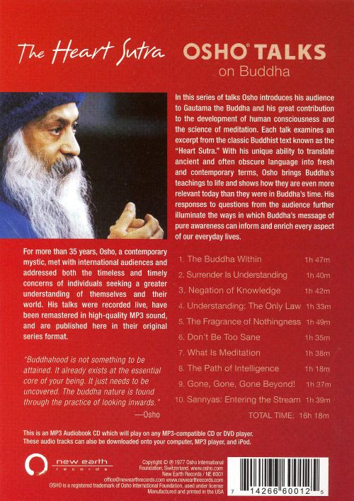 The Heart Sutra: Osho Talks on Buddha [MP3]