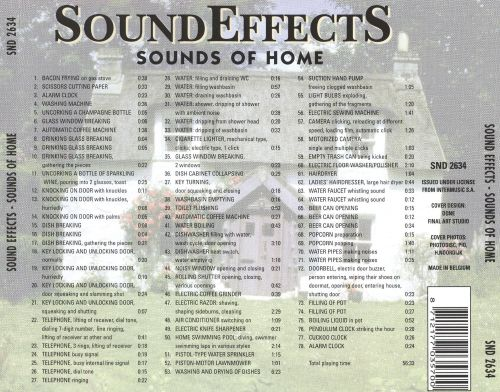Sound Effects: Sounds of Home