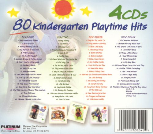 80 Kindergarten Playtime Hits