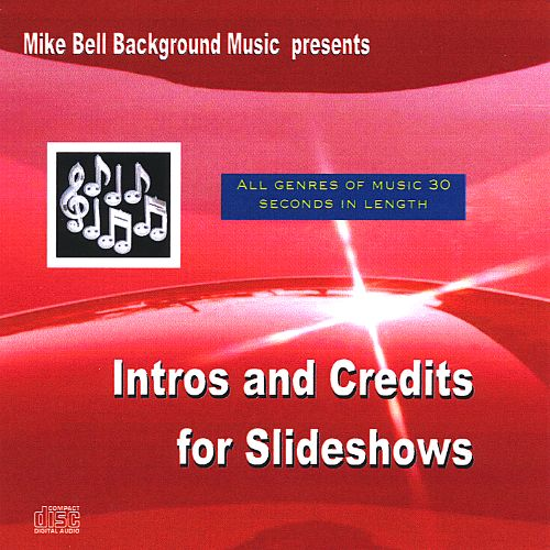 Intros and Credits for Slideshows