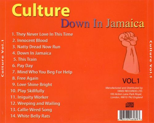 Down in Jamaica, Vol. 1