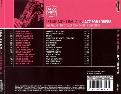 Jazz for Lovers [Music Brokers]