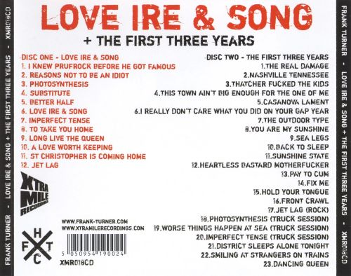 Love Ire & Song/The First Three Years