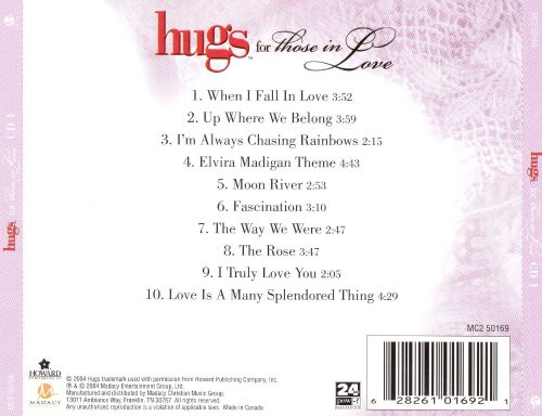 Hugs for Those in Love [CD1]