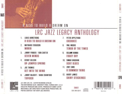 LRC Jazz Legacy Anthology: A Kiss to Build a Dream On