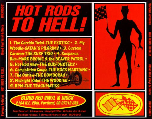 Hot Rods To Hell!, Vol. 1