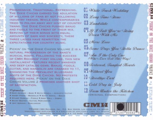 Pickin' on the Dixie Chicks, Vol. 2: Long Time Gone