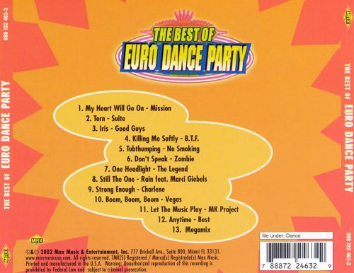 The Best of Euro Dance Party