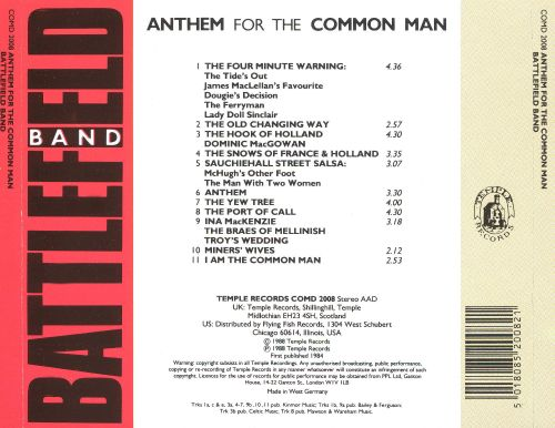 Anthem for the Common Man