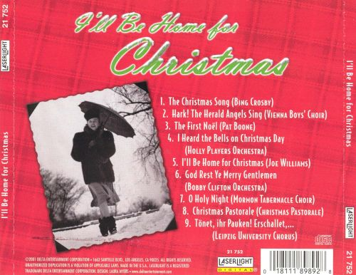 I'll Be Home for Christmas: Best Loved Christmas M