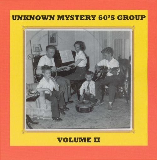 Unknown Mystery 60's Group, Vol. 2