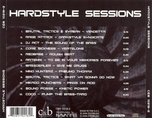 Hardstyle Sessions: The Best in European Hard Techno